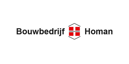 logo bouwbedrijf homan